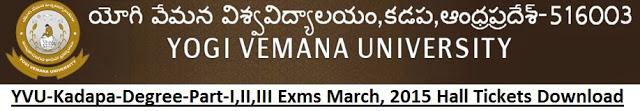 Yvu Degree Ug Semester Pattern Exams April May 2019 Results Check Online