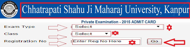 Kanpur-University-Private-Examination-2015-Admit-Card-Download