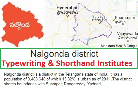 List of Typewriting & Shorthand Institutes in Nalgonda