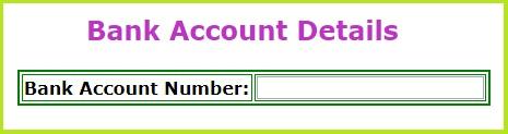 epass-telangana-Bank-Account-Details