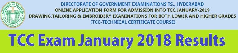 Telangana-TCC-Exams-January-2018-Result