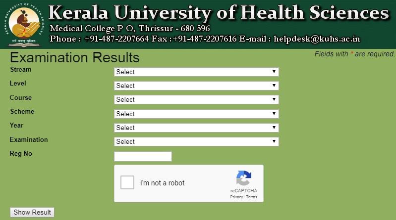 Kerala-University-of-Health-Sciences-Results