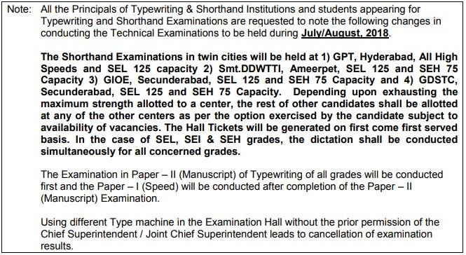 SBTET-TS-Shorthand-Typewriting-2018-Note